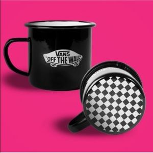 Just In NWT 2 Vans Ceramic Checkerboard Coffee Mug